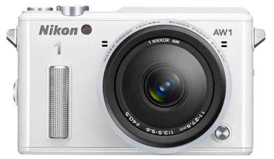 Nikon 1 AW. [Image by Nikon]
